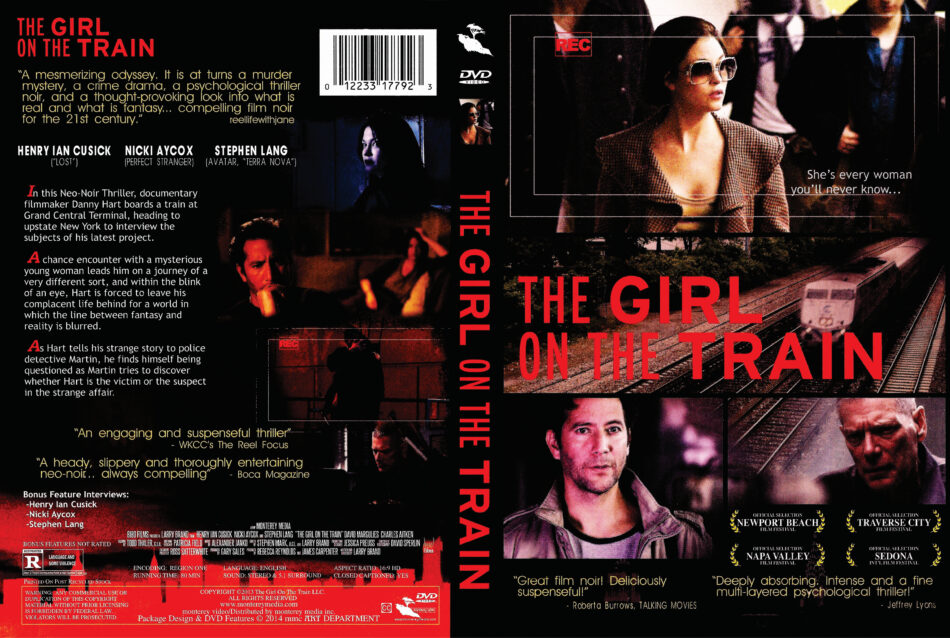 The Girl on the Train dvd cover
