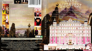 The Grand Budapest Hotel dvd cover