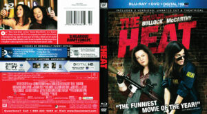 The Heat blu-ray dvd cover