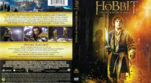The Hobbit: The Desolation of Smaug dvd cover