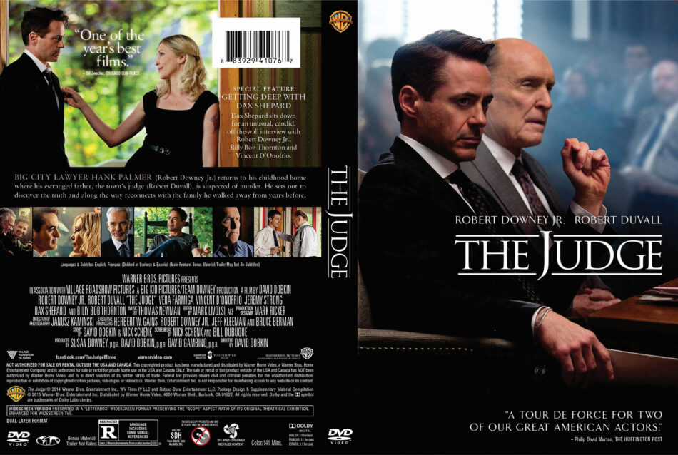 The Judge dvd cover
