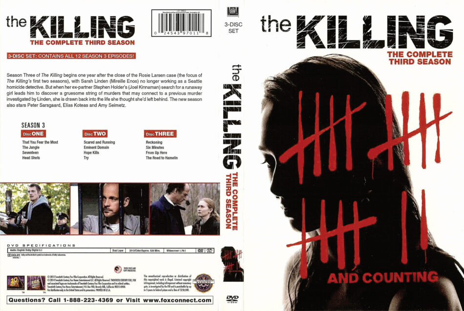 The Killing season 3 dvd cover