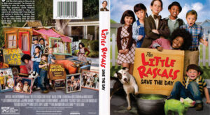 The Little Rascals Save the Day dvd cover
