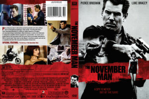 The November Man dvd cover