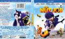 The Nut Job (2014) R1 Blu-Ray DVD Cover