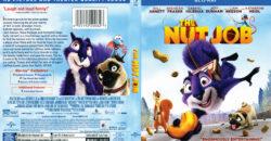 The Nut Job blu-ray dvd cover