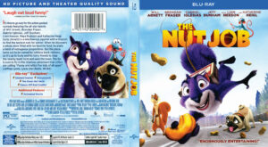 The Nut Job blu-ray dvd cover