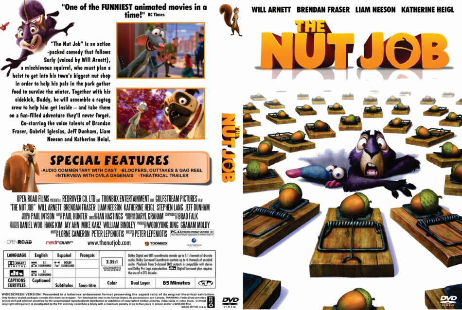 The Nut Job dvd cover