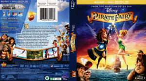 The Pirate Fairy blu-ray dvd cover
