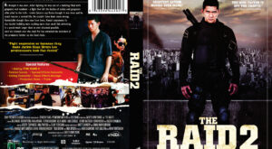 The Raid 2 dvd cover