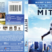 The Secret Life of Walter Mitty (2013) R1 Blu-Ray DVD Cover