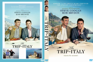 The Trip to Italy dvd cover