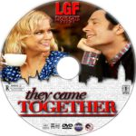 They Came Together (2014) R1 Custom DVD Label