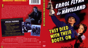 They Died With Their Boots On dvd cover