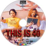 This is 40 (2012) R1 Custom DVD Label