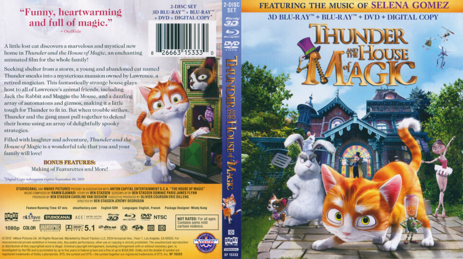 Thunder and the House of Magic (Blu-ray) 3D
