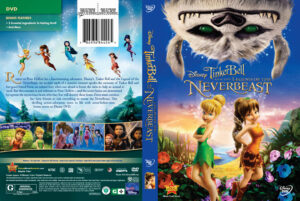 Tinker Bell and the Legend of the NeverBeast dvd coverTinker Bell and the Legend of the NeverBeast dvd cover