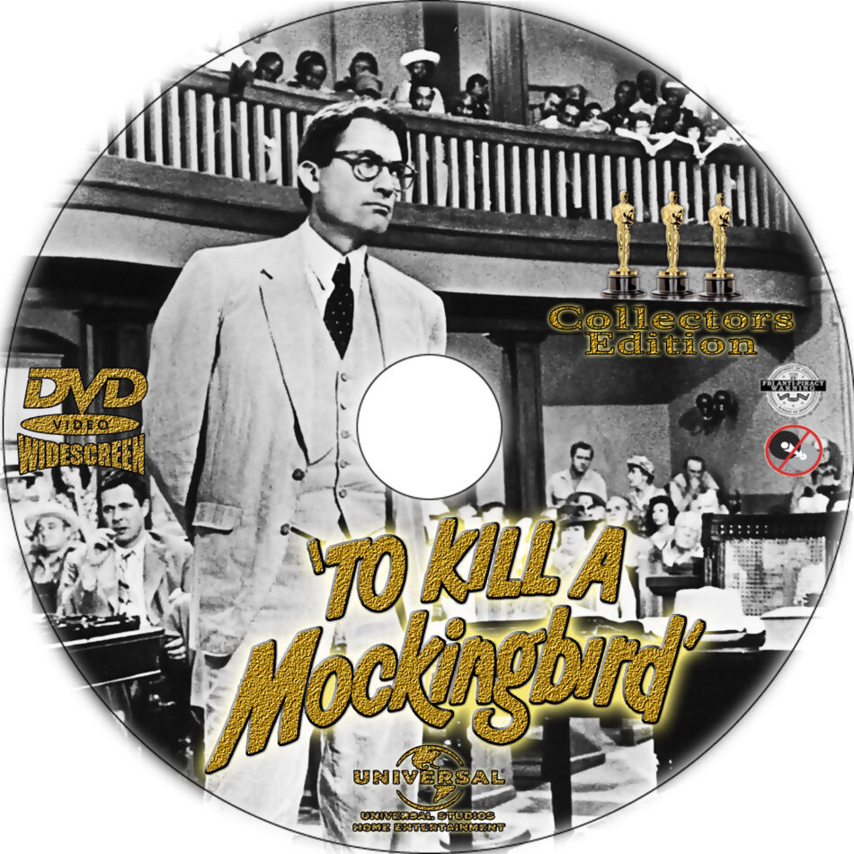 To Kill a Mockingbird dvd label