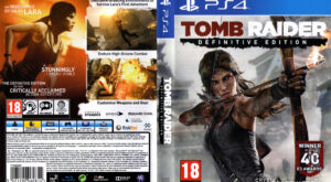 Tomb Raider - Definitive Edition dvd cover