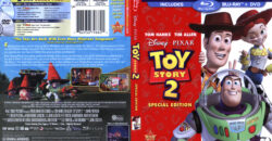 Toy Story 2 (Blu-ray) dvd cover