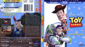 Toy Story (Blu-ray) dvd cover