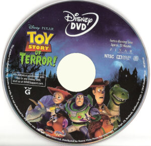 Toy Story of Terror dvd label