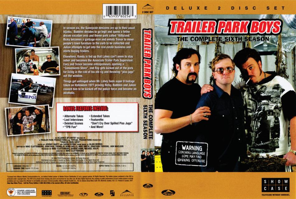 Trailer Park Boys dvd cover