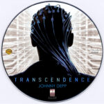 Transcendence (2014) Custom DVD Label