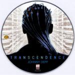 Transcendence (2014) Custom DVD Label