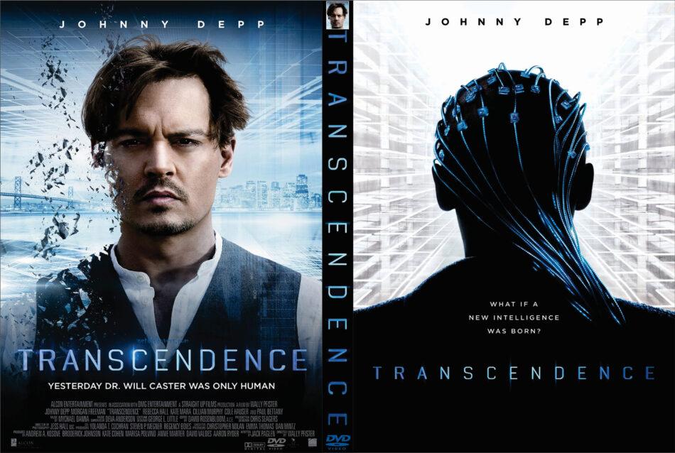 Transcendence dvd cover