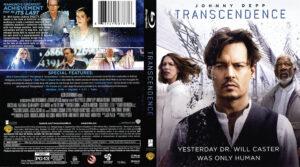 Transcendence blu-ray dvd cover