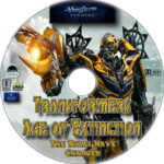 Transformers: Age of Extinction (2014) R1 Custom DVD Label