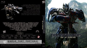 Transformers: Age of Extinction blu-ray dvd cover