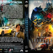 Transformers: Age of Extinction (2014) R1 Custom DVD Cover