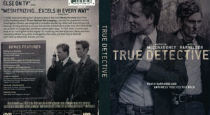 True Detective dvd cover