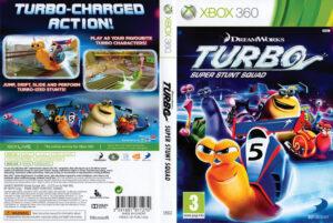 Turbo: Super Stunt Squad dvd cover