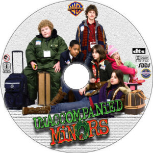 Unaccompanied Minors dvd label
