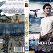 Unbroken (2014) R2 CUSTOM DVD Covers