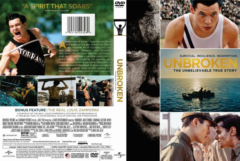 Unbroken dvd cover