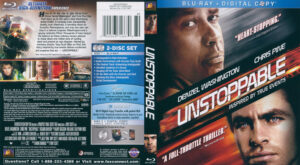 Unstoppable (Blu-ray) dvd cover