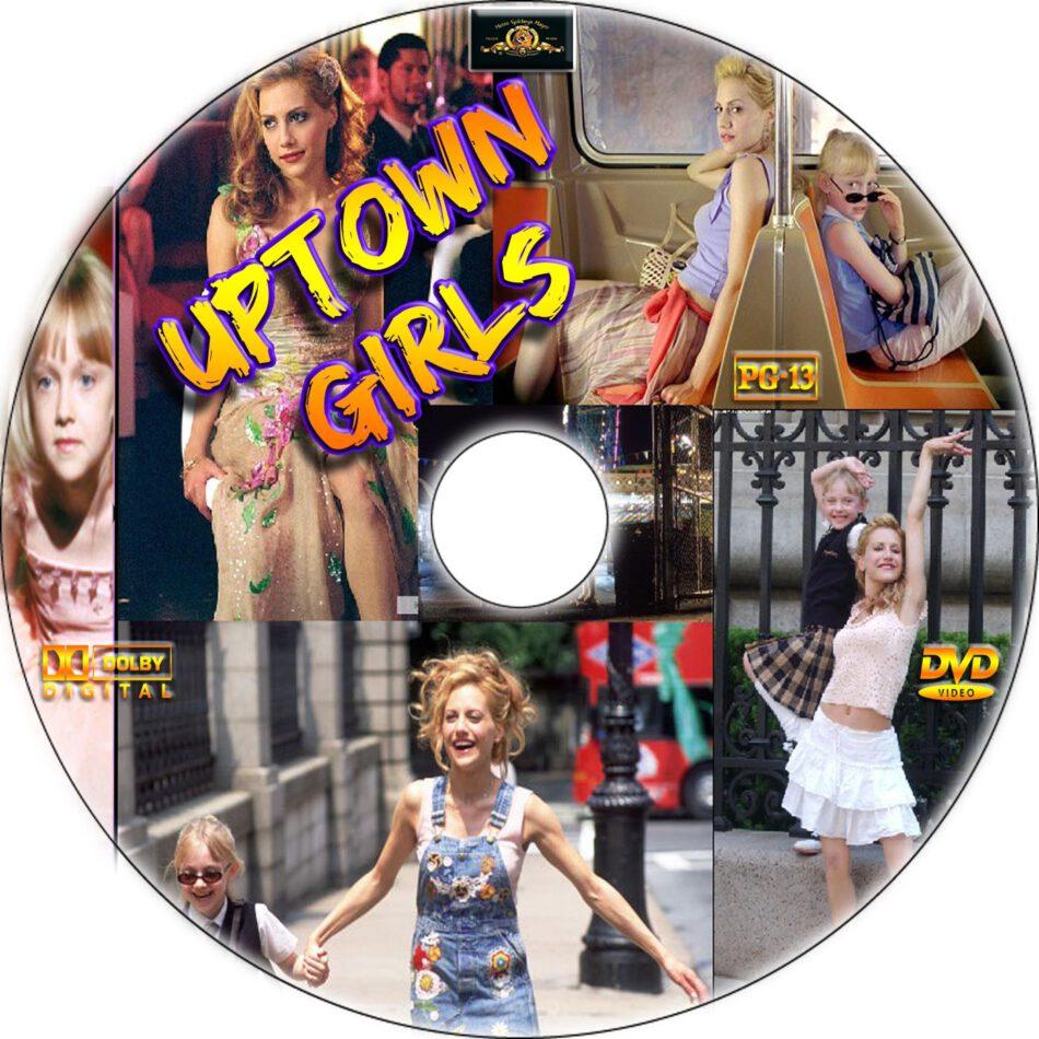 Uptown Girls dvd label