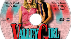 Valley Girl dvd label