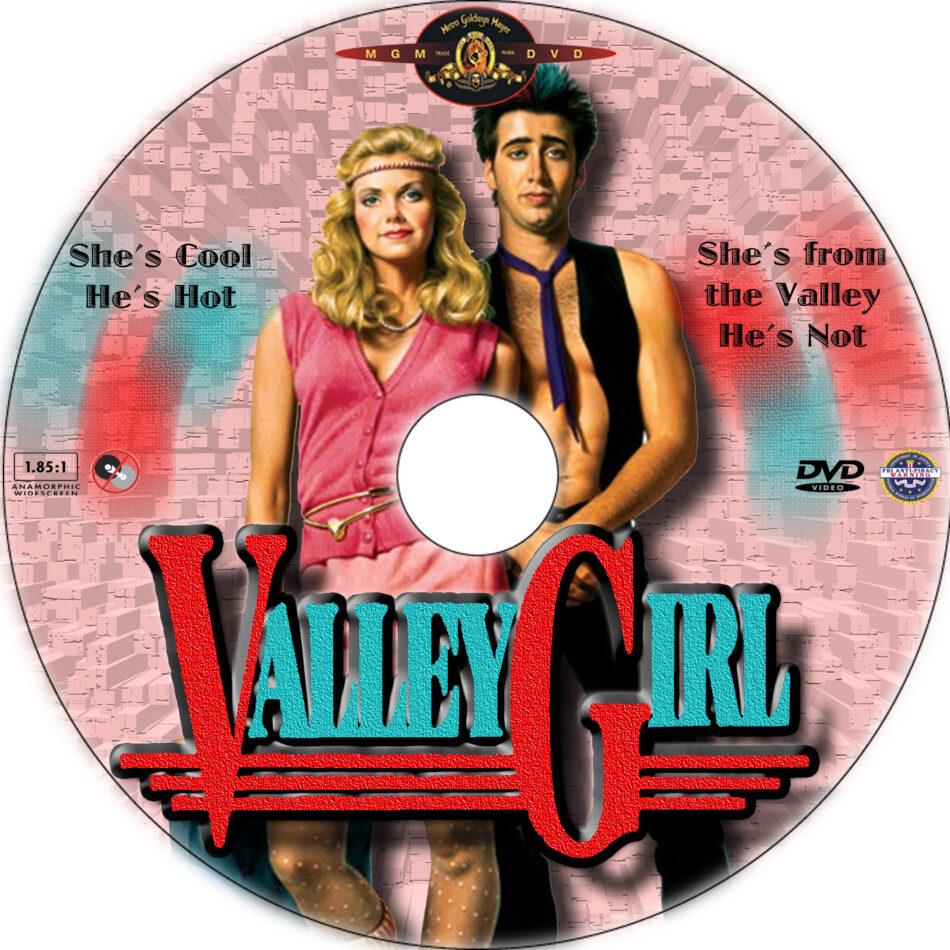 Valley Girl dvd label
