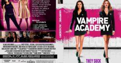 Vampire Academy dvd cover