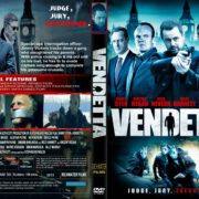 Vendetta (2013) R2 CUSTOM DVD COVER