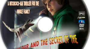 Victor and the Secret of Crocodile Mansion dvd label