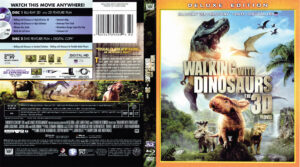 Walking with Dinosaurs 3D blu-ray dvd cover