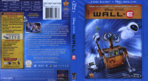 Wall E (Blu-ray) dvd cover