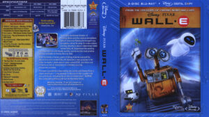 Wall E (Blu-ray) dvd cover
