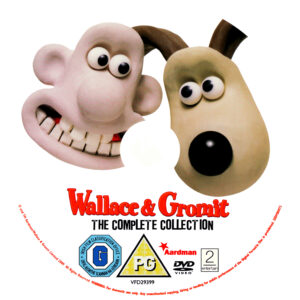 Wallace & Gromit Complete Collection R2 Disc